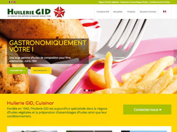 Huilerie GID- Négoce d'huile alimentaire