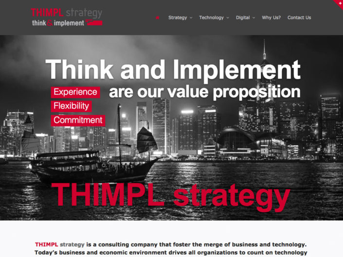 Thimpl Strategy - Consulting