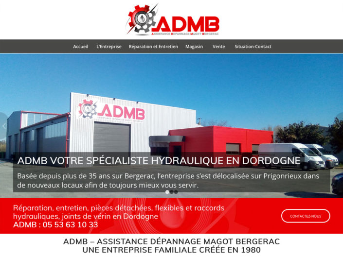 ADMB Spécialiste réparation hydraulique