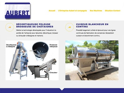 Aubert & Cie - Construction de machines pour l'industrie agroalimentaire
