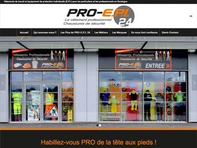 Pro EPI 24 - Vêtements de travail professionnels en Dordogne